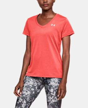 New Arrival Women's UA Tech™ Color Shift V-neck Short Sleeve FREE U.S. SHIPPING 1  Color Available $24.99