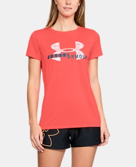 New Arrival Women's UA Tech™ Graphic Short Sleeve FREE U.S. SHIPPING 1  Color Available $27.99