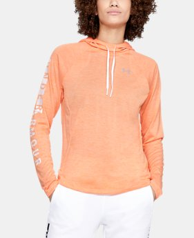 New Arrival Women's UA Tech™ Graphic Hoodie   1  Color Available $44.99