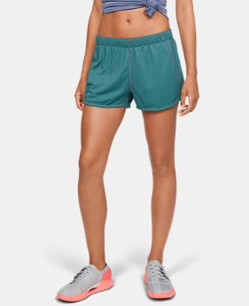 Women's UA Play Up 2.0 Reversible Shorts  1  Color Available $35