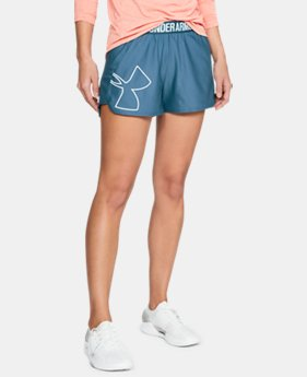 Women's UA Play Up 2.0 Graphic Shorts  1  Color Available $25