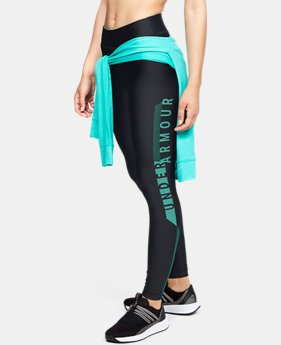 Women's HeatGear® Armour Graphic Leggings  4  Colors Available $50