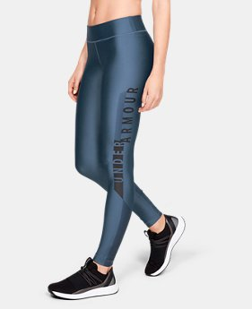 Women's HeatGear® Armour Graphic Leggings  1  Color Available $50