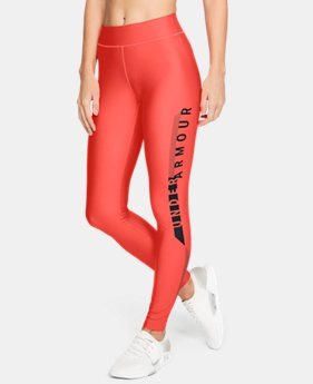 Women's HeatGear® Armour Graphic Leggings  1  Color Available $60