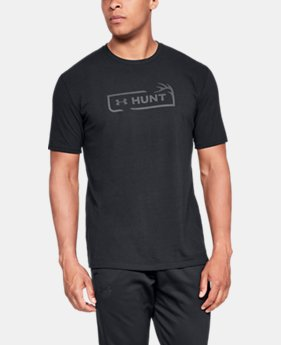 Men's UA Hunt Logo T-Shirt  1  Color Available $25