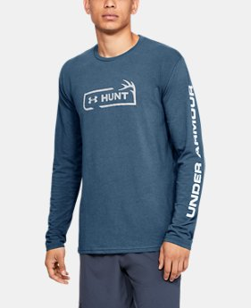 Men's UA HUNT Logo Long Sleeve  3  Colors Available $35