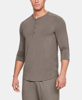 Best Seller  Men's Athlete Recovery Sleepwear™ Ultra Comfort 3/4 Henley  1  Color Available $130
