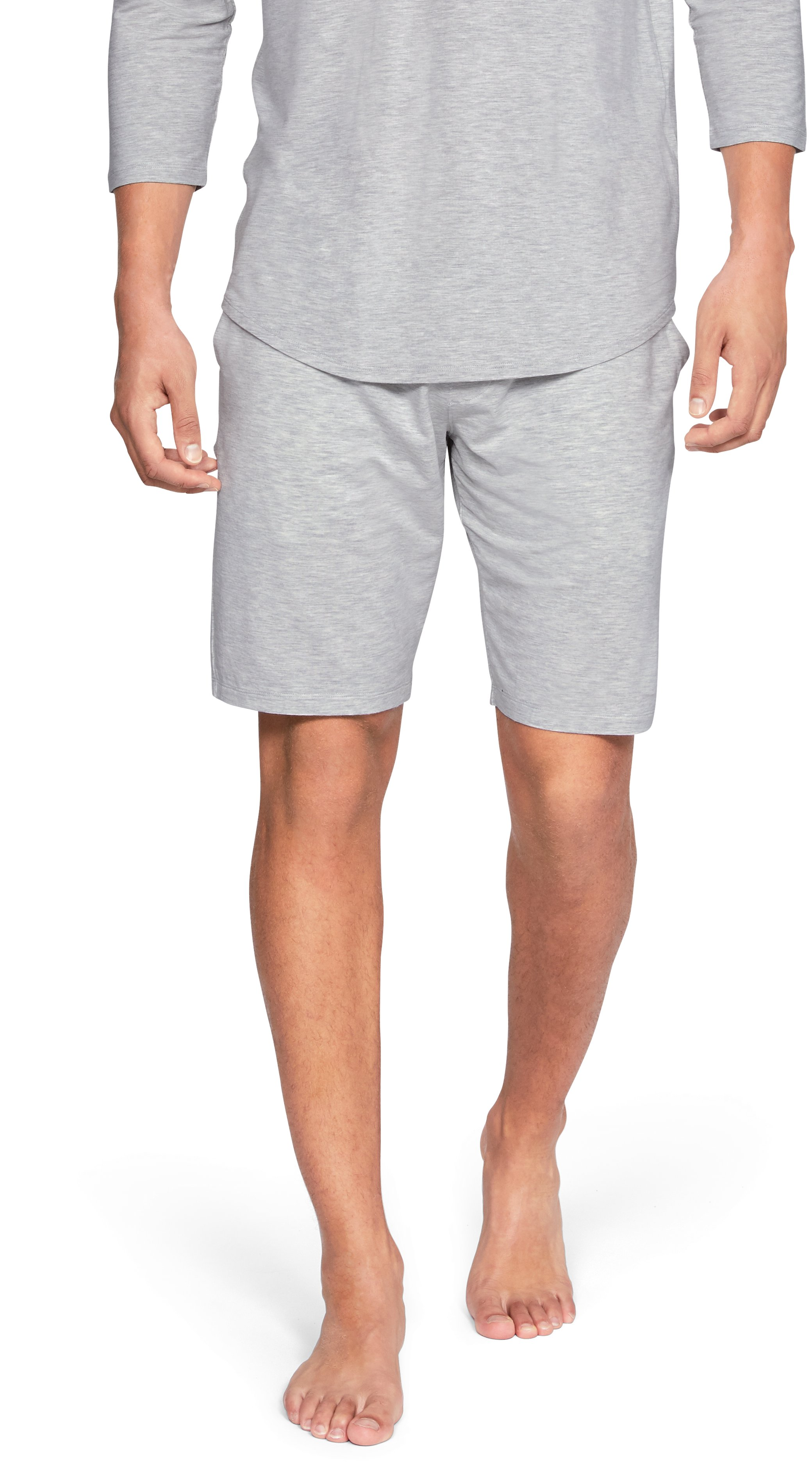 Men's Athlete Recovery Sleepwear™ Ultra Comfort Shorts, Elemental Medium Heather, zoomed