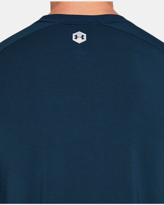 Men's UA RECOVER™  Sleepwear Ultra Comfort  Short Sleeve, Blue, pdpMainDesktop image number 6