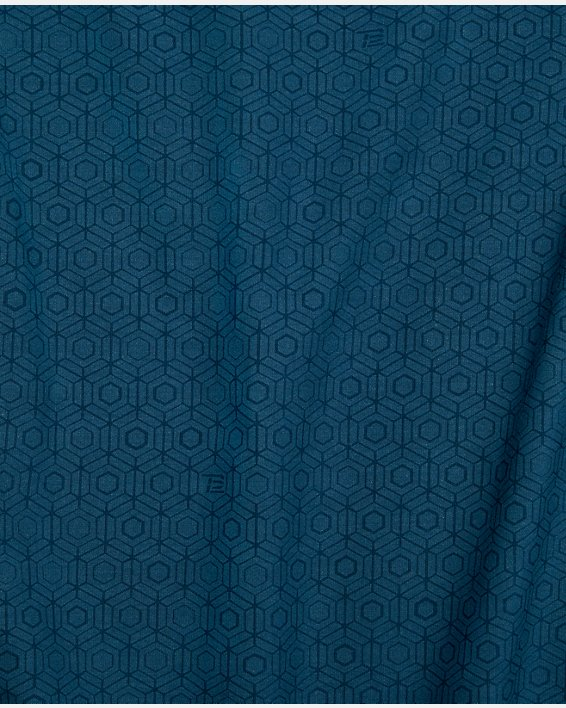 Men's UA RECOVER™  Sleepwear Ultra Comfort  Short Sleeve, Blue, pdpMainDesktop image number 7