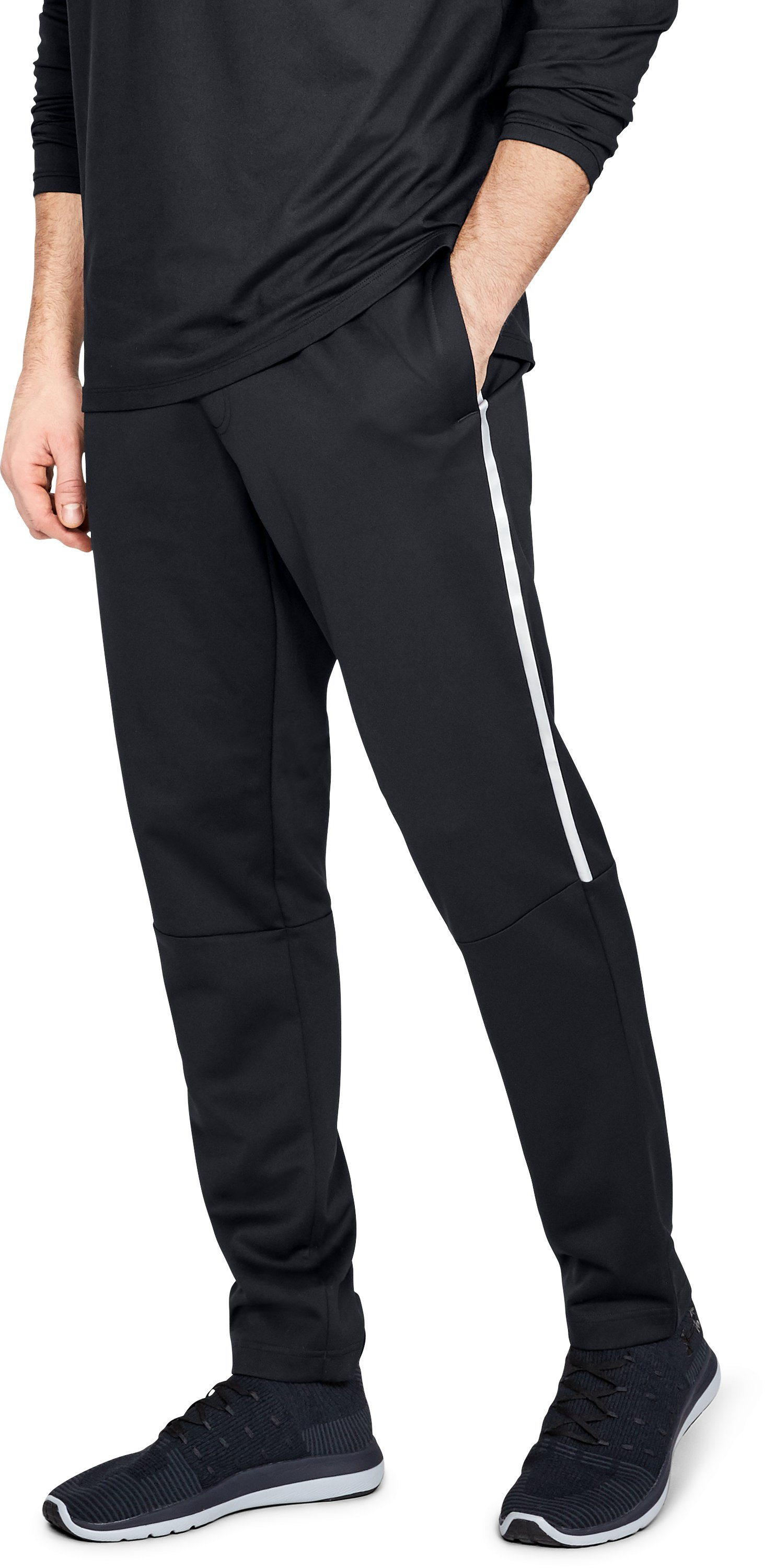 Men's Athlete Recovery Track Suit™ Pants, Black , zoomed