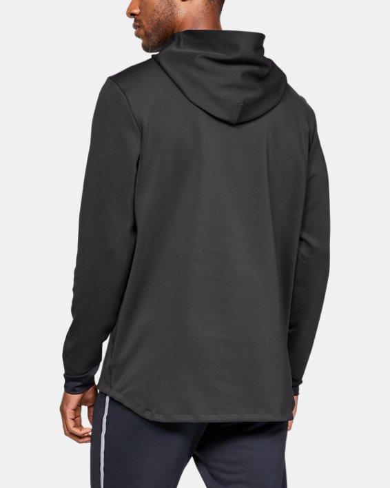 Men's UA RECOVER™ Track Suit Elite Hoodie, Gray, pdpMainDesktop image number 2