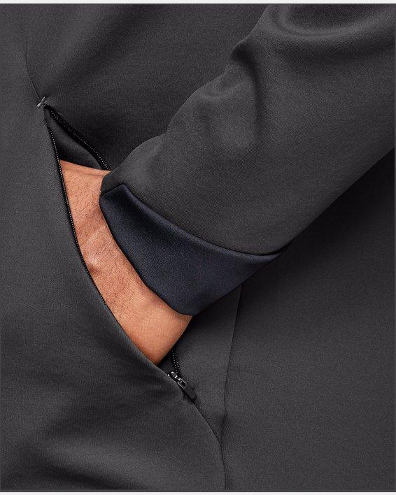Men's UA RECOVER™ Track Suit Elite Hoodie, Gray, pdpMainDesktop image number 7