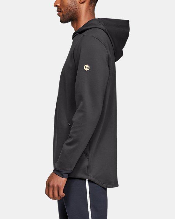 Men's UA RECOVER™ Track Suit Elite Hoodie, Gray, pdpMainDesktop image number 3