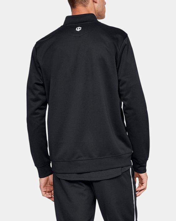 Men's UA RECOVER™ Track Suit Jacket, Black, pdpMainDesktop image number 2