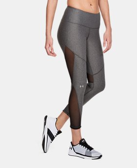 Women's HeatGear® Armour Mesh Ankle Crop FREE U.S. SHIPPING 2  Colors Available $50