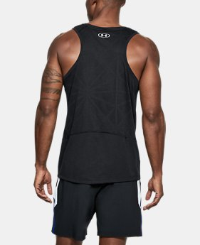 Men's UA Swyft Singlet  1  Color Available $45