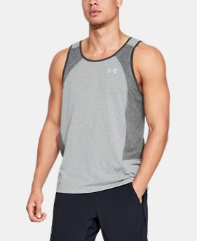 Men's UA Swyft Singlet  1  Color Available $40