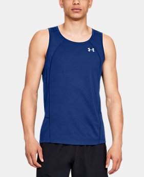 Men's UA Microthread Swyft Singlet LIMITED TIME: FREE U.S. SHIPPING 1  Color Available $40