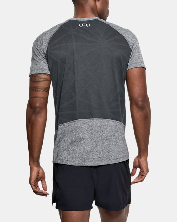 T-shirt UA Microthread Swyft pour homme, Gray, pdpMainDesktop image number 2