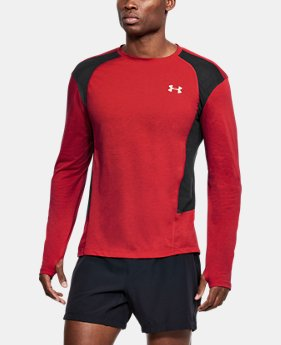 Men's UA Swyft Long Sleeve  1  Color Available $50