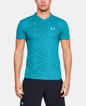 Men's UA Swyft V-Neck T-Shirt  2  Colors Available $33.75 to $33.99