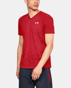 New Arrival Men's UA Microthread Swyft V-Neck LIMITED TIME: FREE U.S. SHIPPING 4  Colors Available $45