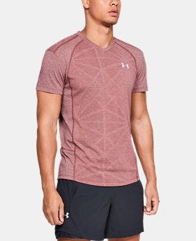 Men's UA Swyft V-Neck T-Shirt  2  Colors Available $45