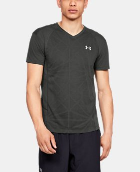 New Arrival Men's UA Microthread Swyft V-Neck LIMITED TIME: FREE U.S. SHIPPING 1  Color Available $45