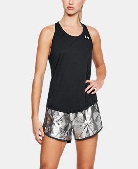 Women's UA Swyft Racer Tank  1  Color Available $35