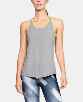 Women's UA Swyft Racer Tank  4  Colors Available $21 to $26.99