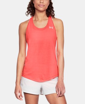 Women's UA Swyft Racer Tank  4  Colors Available $35