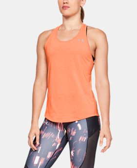 Women's UA Swyft Racer Tank  3  Colors Available $35