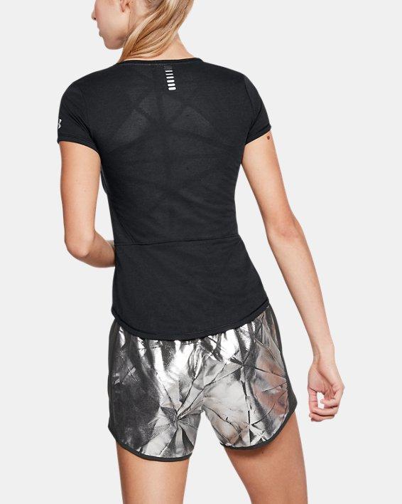 Women's UA Swyft Short Sleeve, Black, pdpMainDesktop image number 2