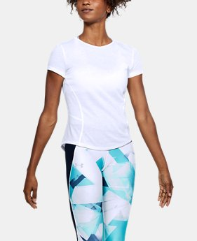 Women's UA Microthread Swyft Short Sleeve FREE U.S. SHIPPING 2  Colors Available $40