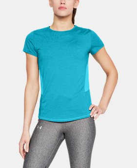 Women's UA Microthread Swyft Short Sleeve FREE U.S. SHIPPING 3  Colors Available $40