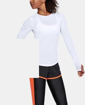 Women's UA Swyft Long Sleeve  1  Color $45