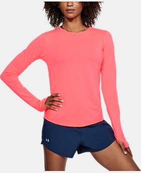 Women's UA Swyft Long Sleeve  1  Color Available $45