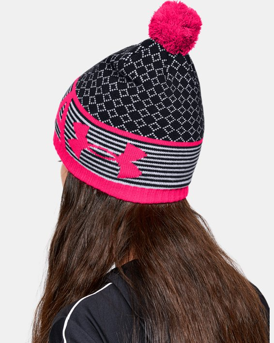 Girls' UA Favorite Beanie, Black, pdpMainDesktop image number 0