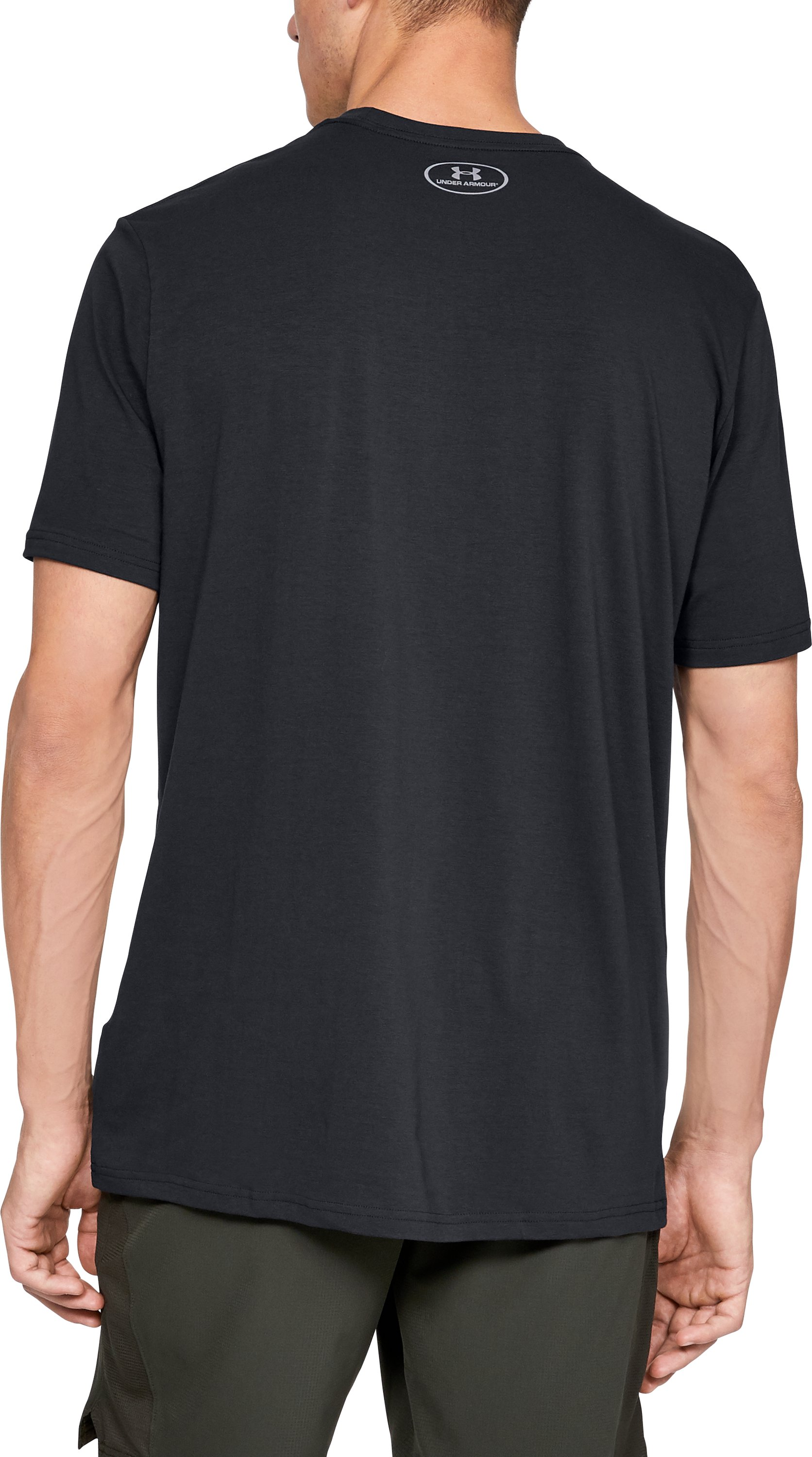Men's UA Branded BL Short Sleeve T-Shirt, Black ,
