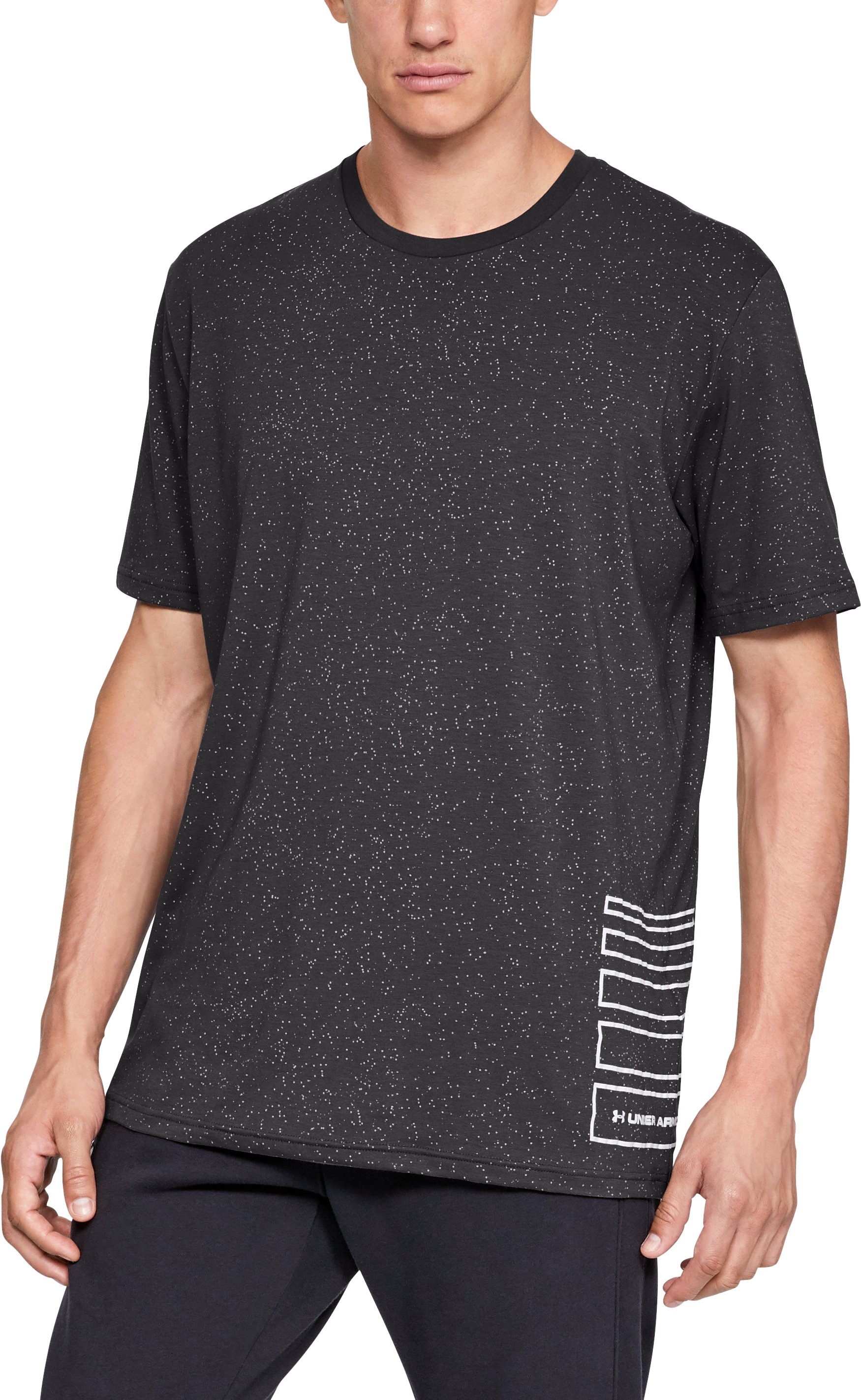 Men's UA Speckle Print Short Sleeve T-Shirt 2 Colors $35.00