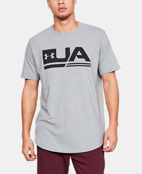 Men's UA Sportstyle Short Sleeve  3  Colors Available $35