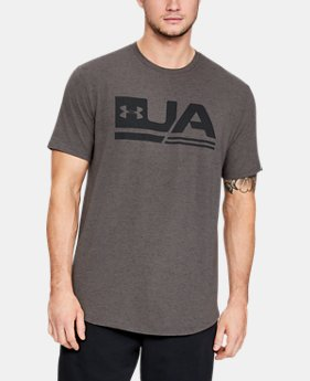 Men's UA Sportstyle Short Sleeve  1  Color Available $40