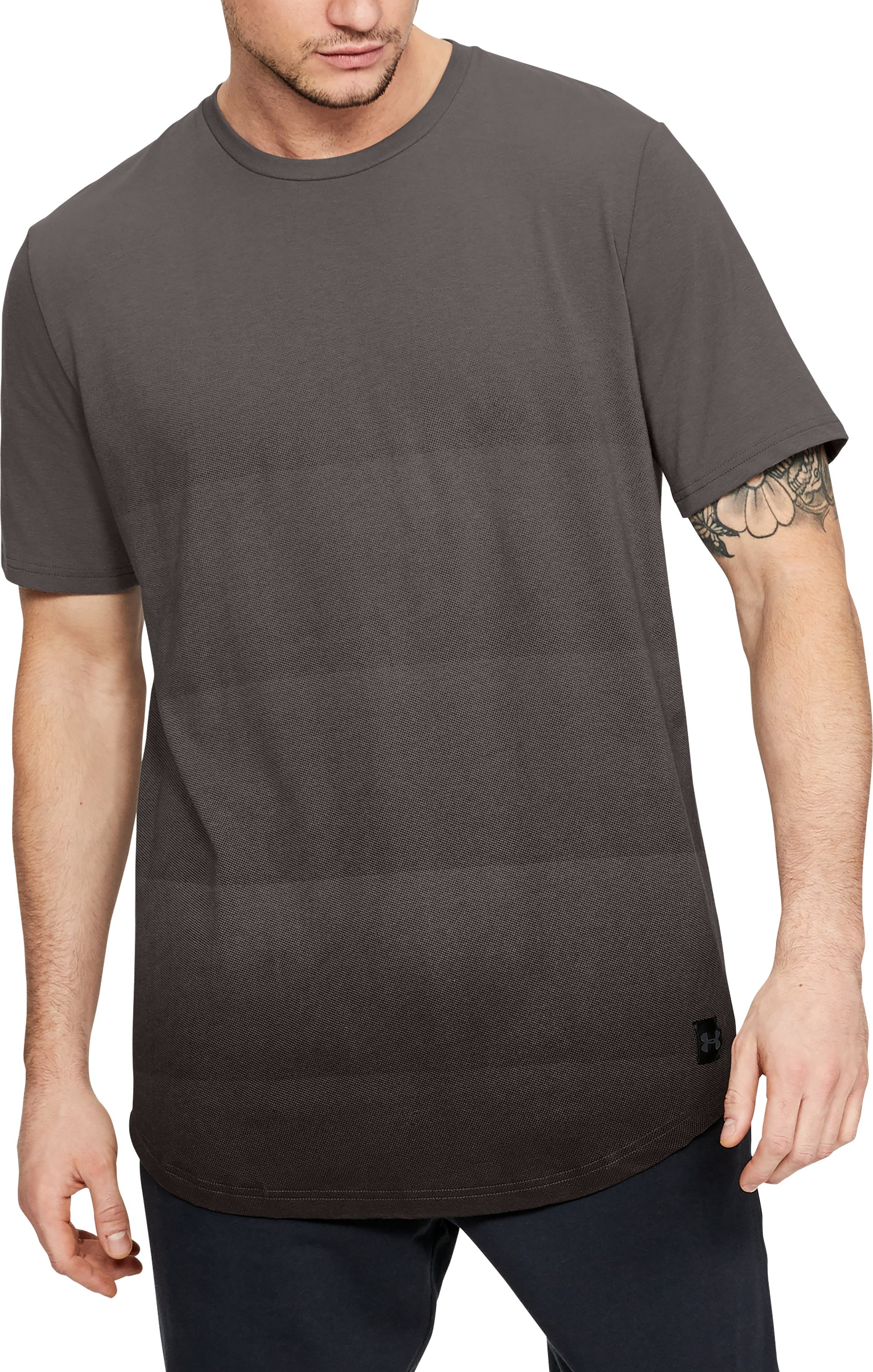 Men's UA Sportstyle Gradual Short Sleeve Shirt, FRESH CLAY