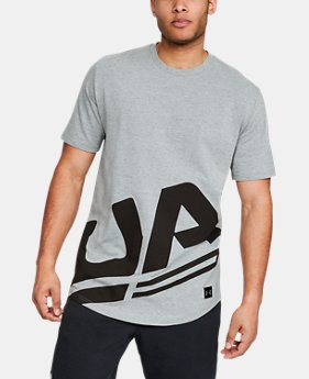 Men's UA Sportstyle Branded Short Sleeve  3  Colors Available $30 to $35