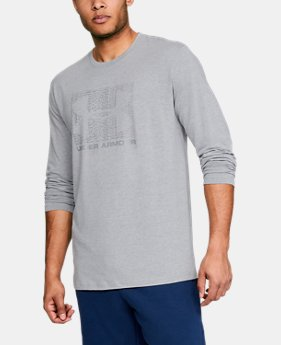 Men's UA Boxed Sportstyle Long Sleeve  1  Color Available $30