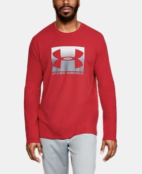 New Arrival Men's UA Boxed Sportstyle Long Sleeve  1  Color Available $30