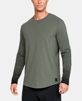 New Arrival Men's UA Sportstyle Gradual Long Sleeve T-Shirt  1  Color Available $35