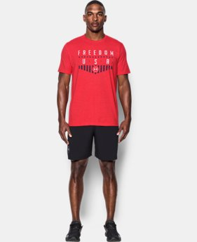 Men's UA Freedom Americana T-Shirt  1 Color $17.49 to $24.99