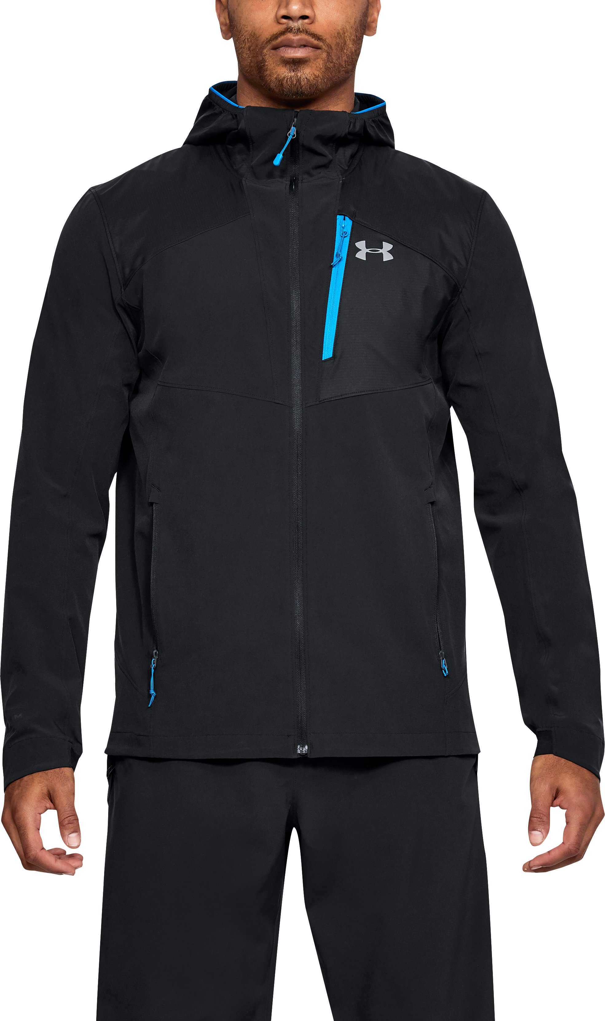 Men's UA Propellant Jacket, Black ,